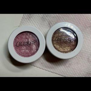 Colourpop super shock eyeshadow duo